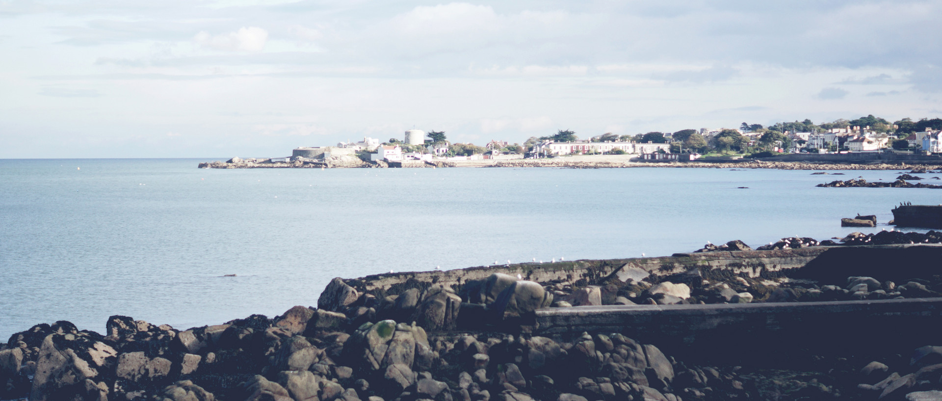 Views of Dun Laoghaire bay