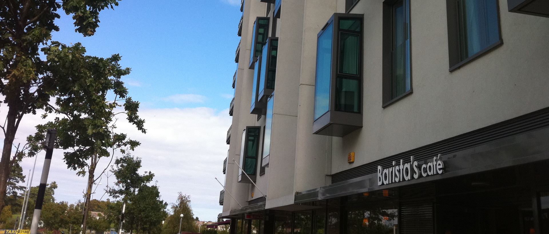 The exterior of PREMIER SUITES Sandyford