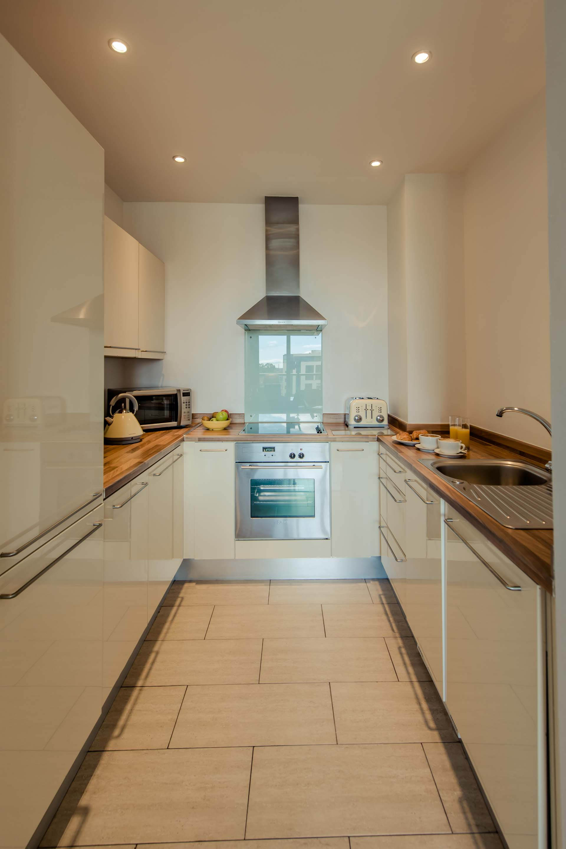 PREMIER SUITES Dublin Sandyford kitchen shot